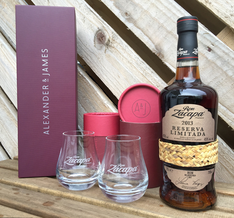 Alexander & James Luxury Zacapa Gifting